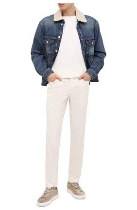 Мужская джинсовая куртка ISABEL MARANT синего цвета, арт. VE1462-20A018H/JAREDEN | Фото 2