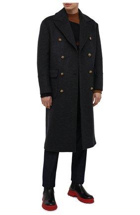 Мужской пальто из шерсти и кашемира ELEVENTY серого цвета, арт. B70CAPB06 TES0B123 | Фото 2