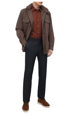 Мужские замшевые ботинки open wintery walk LORO PIANA светло-коричневого цвета, арт. FAL4735 | Фото 2