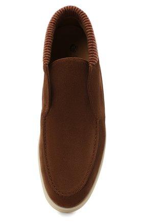 Мужские замшевые ботинки open wintery walk LORO PIANA светло-коричневого цвета, арт. FAL4735   Фото 5