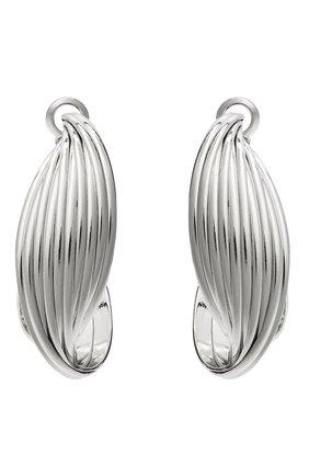 Женские серьги EXCLAIM серебряного цвета, арт. 042S3141E   Фото 1