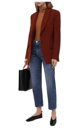 Женский шерстяной жакет BOSS коричневого цвета, арт. 50448920 | Фото 2