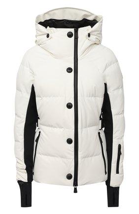 Женский пуховая куртка MONCLER белого цвета, арт. F2-098-1A512-40-53861 | Фото 1