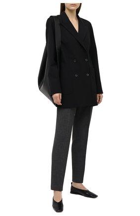Женский шерстяной жакет JOSEPH черного цвета, арт. JP000986 | Фото 2