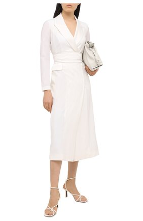 Женское шерстяное платье LORENA ANTONIAZZI белого цвета, арт. SI2003AB006/318 | Фото 2