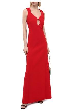 Женское платье VICTORIA BECKHAM красного цвета, арт. 1420WDR002164A | Фото 2