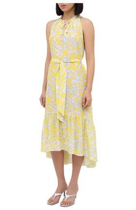 Женское шелковое платье HEIDI KLEIN разноцветного цвета, арт. 20HSCN2873 | Фото 2
