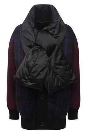 Женская пуховая куртка MARNI бордового цвета, арт. PIMA0046BL/TP679 | Фото 1