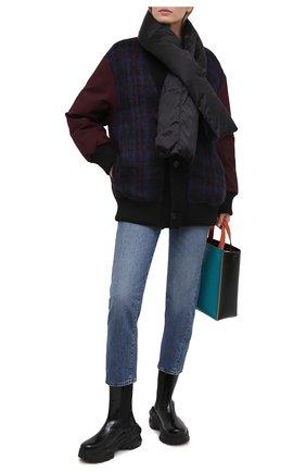 Женская пуховая куртка MARNI бордового цвета, арт. PIMA0046BL/TP679 | Фото 2