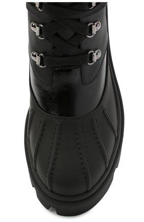 Женские кожаные ботильоны corinne MONCLER черного цвета, арт. F2-09B-4F709-00-02SEB | Фото 5
