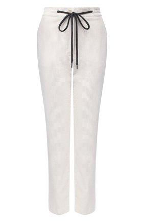 Женские брюки из вискозы и хлопка ELEVENTY белого цвета, арт. B80PANA15 TES0B186 | Фото 1