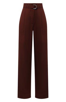 Женские брюки PROENZA SCHOULER WHITE LABEL коричневого цвета, арт. WL2046019-AY120 | Фото 1