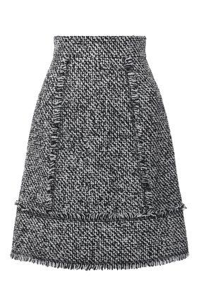 Женская юбка ESCADA SPORT черно-белого цвета, арт. 5034292 | Фото 1