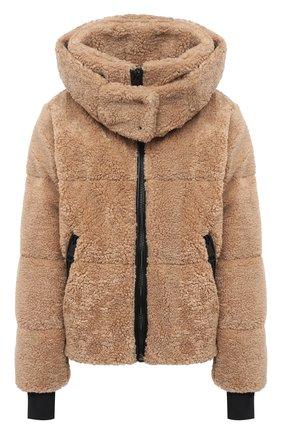 Женский пуховая куртка SAM коричневого цвета, арт. XW02940DA | Фото 1