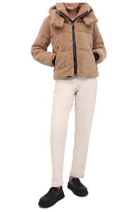 Женский пуховая куртка SAM коричневого цвета, арт. XW02940DA | Фото 2