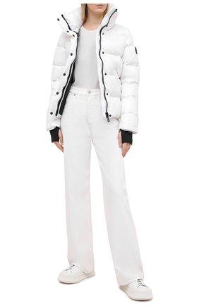 Женский пуховая куртка SAM белого цвета, арт. XW0097NDA | Фото 2
