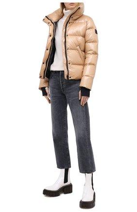 Женский пуховая куртка SAM бежевого цвета, арт. XW0097NDA | Фото 2