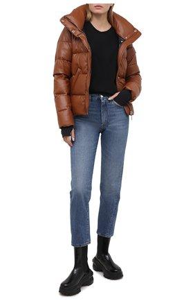 Женский пуховая куртка SAM бежевого цвета, арт. XW0094XDA | Фото 2