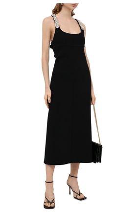 Женское шерстяное платье LANVIN черного цвета, арт. RW-DR373X-4728-H20 | Фото 2