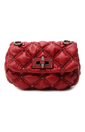 Женская сумка valentino garavani spikeme VALENTINO красного цвета, арт. UW0B0H79/EFZ | Фото 1