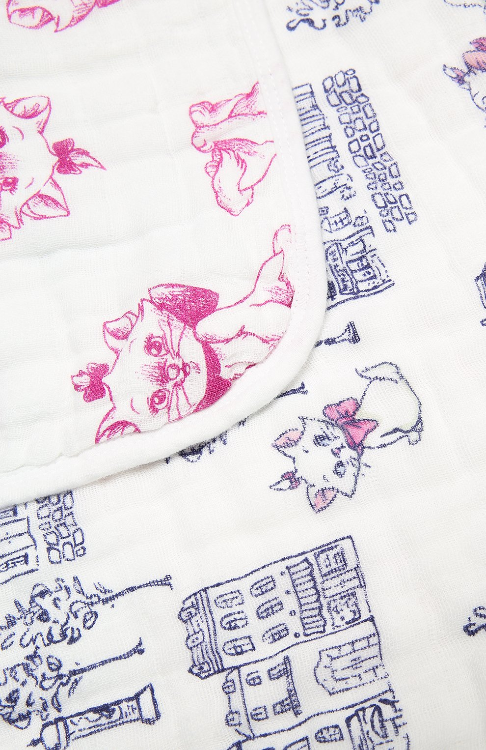 Детского хлопковое одеяло ADEN+ANAIS разноцветного цвета, арт. DISN254G | Фото 3