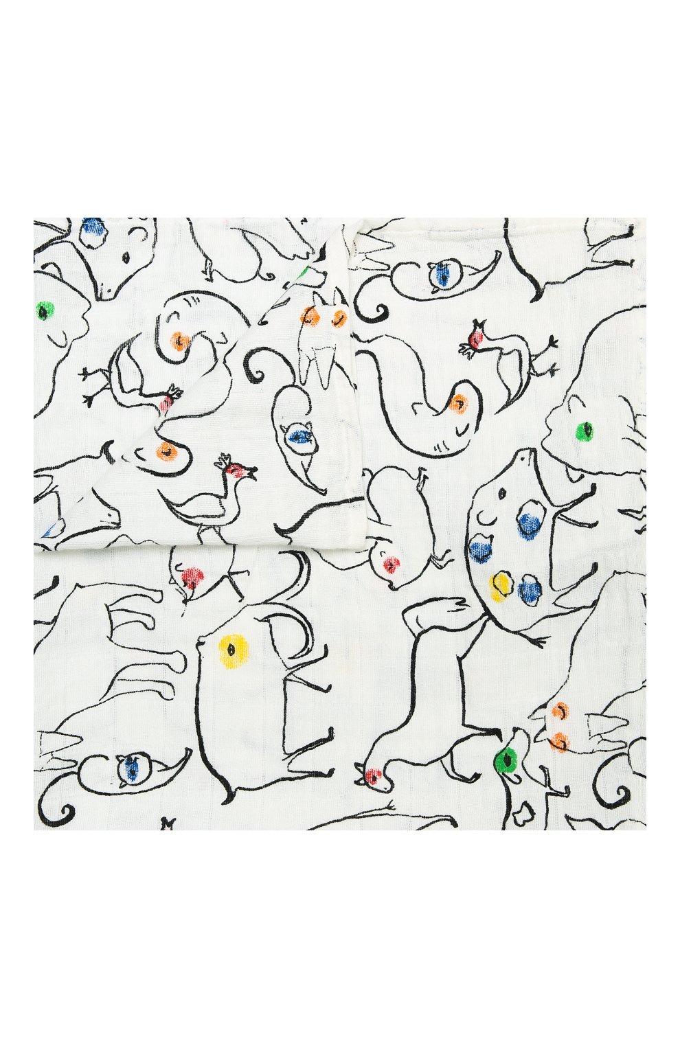 Детского комплект из трех пеленок ADEN+ANAIS разноцветного цвета, арт. 7239 | Фото 3