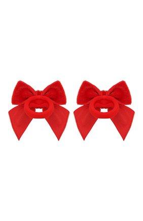 Детская комплект из двух резинок JUNEFEE красного цвета, арт. 6650 | Фото 2