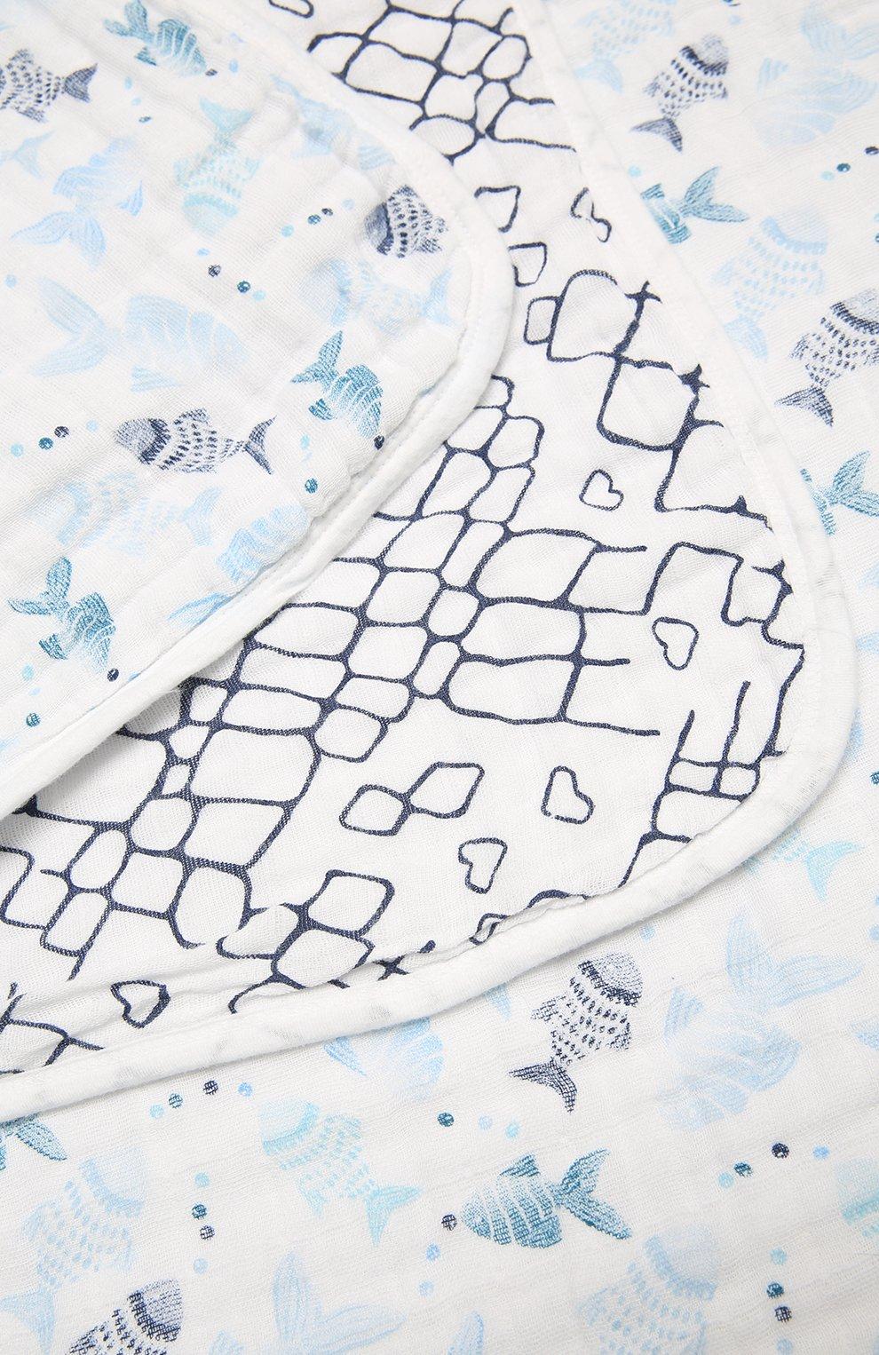 Детского хлопковое одеяло ADEN+ANAIS разноцветного цвета, арт. ADBC10002   Фото 2