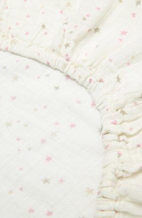 Детского хлопковая пеленка для пеленального стола ADEN+ANAIS белого цвета, арт. 8652G | Фото 2