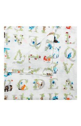 Детского комплект из 4-х пеленок ADEN+ANAIS белого цвета, арт. 2057G | Фото 2