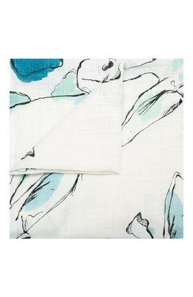 Детского хлопковая пеленка ADEN+ANAIS белого цвета, арт. 8934G | Фото 1