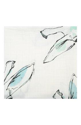 Детского хлопковая пеленка ADEN+ANAIS белого цвета, арт. 8934G | Фото 2