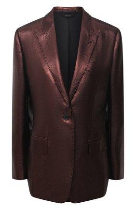 Женский шерстяной жакет TOM FORD светло-коричневого цвета, арт. GI2761-FAX647 | Фото 1