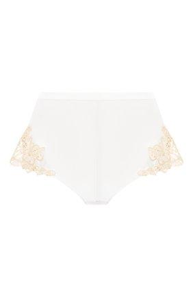 Женские шелковые шорты LA PERLA белого цвета, арт. 0019228/0231 | Фото 1