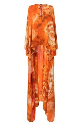 Женское шелковая туника TOM FORD оранжевого цвета, арт. KF0003-FAX768 | Фото 1