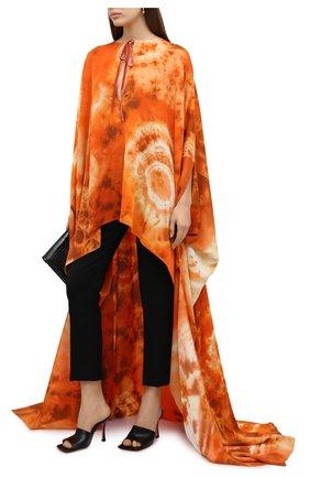 Женское шелковая туника TOM FORD оранжевого цвета, арт. KF0003-FAX768 | Фото 2