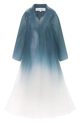 Женское пальто OSCAR DE LA RENTA разноцветного цвета, арт. 0N8052TUL | Фото 1