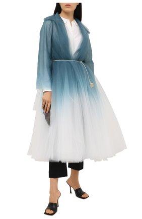 Женское пальто OSCAR DE LA RENTA разноцветного цвета, арт. 0N8052TUL | Фото 2