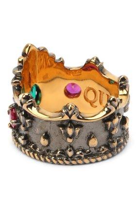 Женское кольцо crown QUEENSBEE разноцветного цвета, арт. 102103/9,49 | Фото 1