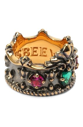 Женское кольцо crown QUEENSBEE разноцветного цвета, арт. 102103/9,49 | Фото 2