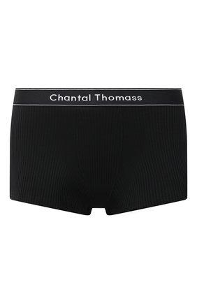 Женские трусы-шорты CHANTAL THOMASS черного цвета, арт. T05C50 | Фото 1