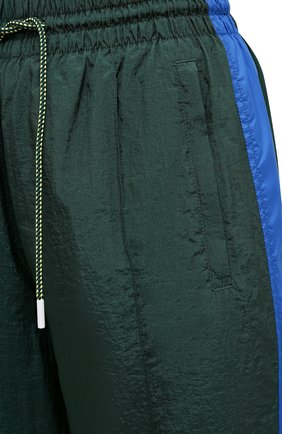 Женские джоггеры LACOSTE зеленого цвета, арт. XH4746   Фото 5