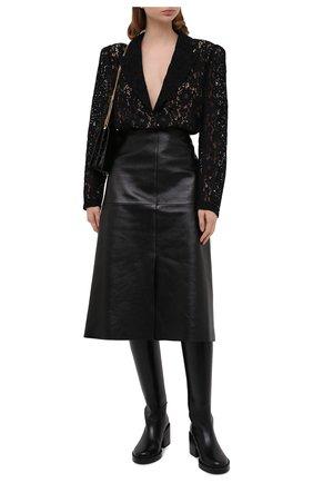 Женское боди ULYANA SERGEENKO черного цвета, арт. BDY001FW20P (1152т20) | Фото 2