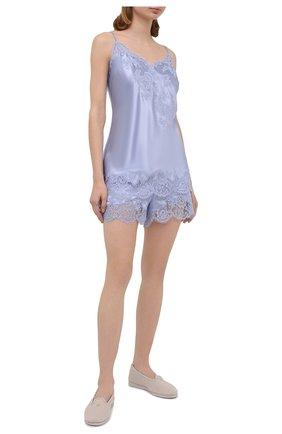 Женская шелковая пижама MARJOLAINE голубого цвета, арт. 3GEM4012-3GEM5003 | Фото 1