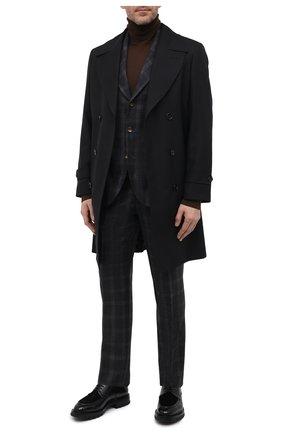 Мужской шерстяной костюм BRUNELLO CUCINELLI темно-серого цвета, арт. MN435LDWHA | Фото 1