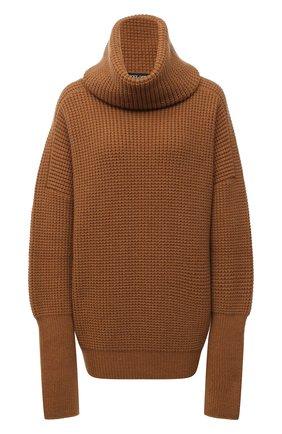Женская кашемировый свитер DOLCE & GABBANA бежевого цвета, арт. FX915T/JAW3Y | Фото 1