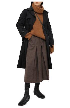 Женская кашемировый свитер DOLCE & GABBANA бежевого цвета, арт. FX915T/JAW3Y | Фото 2