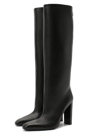 Женские кожаные сапоги TOM FORD черного цвета, арт. W2735R-LCL001 | Фото 1