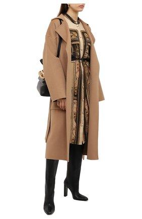 Женские кожаные сапоги TOM FORD черного цвета, арт. W2735R-LCL001 | Фото 2