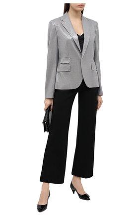 Женский шерстяной жакет RALPH LAUREN серого цвета, арт. 290816143 | Фото 2